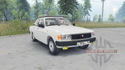 GAZ-31029 Volga light gray color for Spin Tires