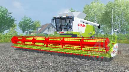 Claas Lexion 770 vivid lime green for Farming Simulator 2013