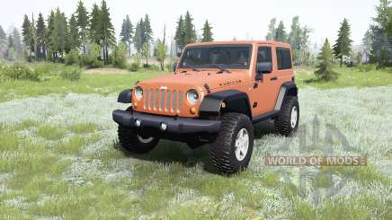 Jeep Wrangler Rubicon (JK) 2007 for MudRunner
