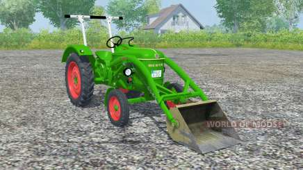Deutz D 30 front loader for Farming Simulator 2013