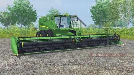 John Deere S680 dual front wheels for Farming Simulator 2013