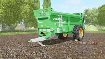 Joskin Tornadꝍ3 for Farming Simulator 2017