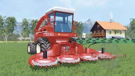 Hesston 7725 cinnabar for Farming Simulator 2015