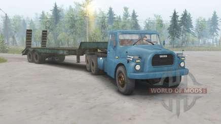 Tatra T148 6x6 v1.1 blue color for Spin Tires