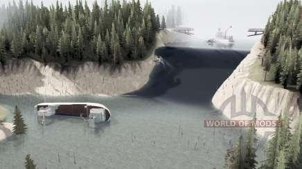 The flooded region for MudRunner