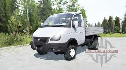 GAZ-33027 GAZelle 2003 for MudRunner