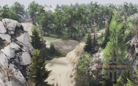 Mountain forest for Spin Tires