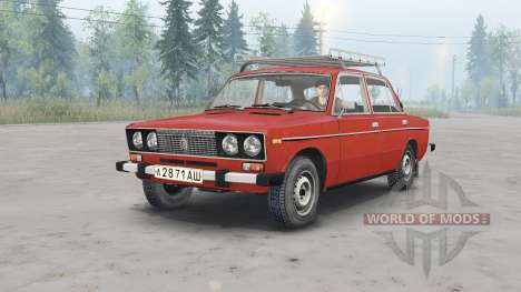 VAZ-2106 Lada for Spin Tires