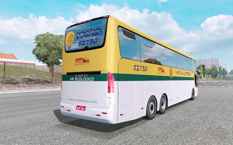 Busscar Jum Buss 380 For Euro Truck Simulator 2
