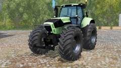 Deutz-Fahr Agrotron X 720 black wheeᶅş for Farming Simulator 2015
