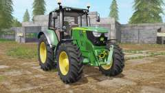 John Deere 6115M north texas green for Farming Simulator 2017