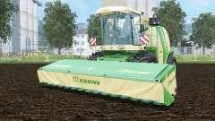 Krone BiG X 1100 pantone greeꞑ for Farming Simulator 2015