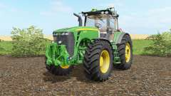 John Deere 8530 wheel shader for Farming Simulator 2017