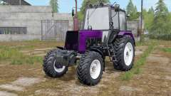 MTZ-Belarus 1025 color selection color for Farming Simulator 2017