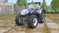 New Holland T7.290&T7.315 Blue Poweɽ for Farming Simulator 2017