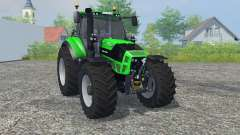 Deutz-Fahr 7250 TTV Agrotron vivid malachite for Farming Simulator 2013