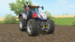 New Holland T7.290 Red Rikiᶒ for Farming Simulator 2017