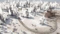 Snow Hills 2 for MudRunner