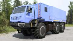KamAZ-6345 Arctic soft blue for MudRunner