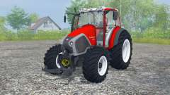 Lindner Geotrac 94 candy apple red for Farming Simulator 2013