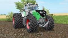 Fendt 1038-1050 Vario double wheels for Farming Simulator 2017