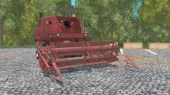 Bizon Super Z056 english red for Farming Simulator 2015