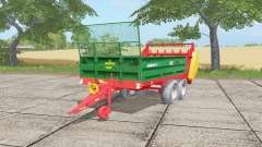 Warfama N218-2 spanish green for Farming Simulator 2017