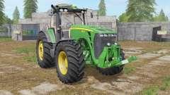 John Deere 8530 dark pastel green for Farming Simulator 2017