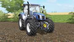 New Holland T6.140&T6.160 Blue Power for Farming Simulator 2017