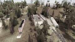 Test Railway for MudRunner