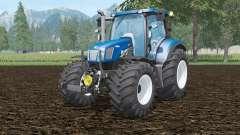 New Holland T6.160 BluePoweɽ for Farming Simulator 2015