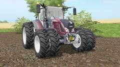 Fendt 716-724 Vario added dual wheels for Farming Simulator 2017