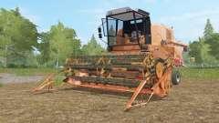 Bizon Super Z056 tan hide for Farming Simulator 2017