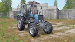MTZ-Belarus 1025 blue for Farming Simulator 2017