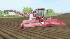 Holmer Terra Felis 2 english vermillion for Farming Simulator 2017