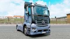 Mercedes-Benz Antos 1832 moonstone blue for Euro Truck Simulator 2