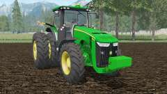 John Deere 8370R islamic green for Farming Simulator 2015