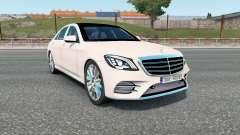 Mercedes-Benz S 400 d Lang AMG Line (V222) 2017 for Euro Truck Simulator 2