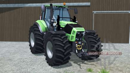 Deutz-Fahr 7250 TTV Agrotron wheel options for Farming Simulator 2013
