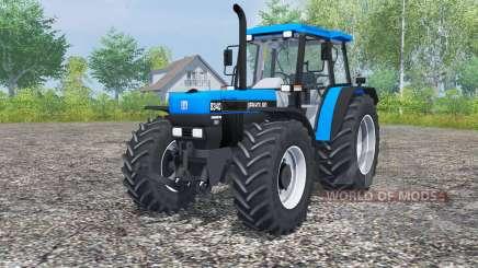 New Holland 8340 deep sky blue for Farming Simulator 2013