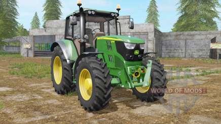 John Deere 6115M north texas green for Farming Simulator 2017