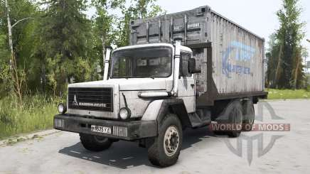 Magirus-Deutz 290 D 26 1973 white for MudRunner