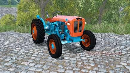 Lamborghini 1R giants orange for Farming Simulator 2015