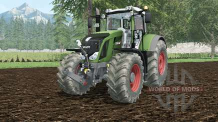 Fendt 828 Vario hippie green for Farming Simulator 2015