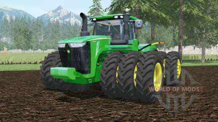 John Deere 9620R tripleᶊ for Farming Simulator 2015