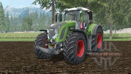 Fendt 927 Vario bud green for Farming Simulator 2015