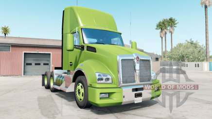 Kenworth T880 android green for American Truck Simulator