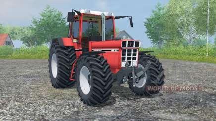 International 1455 XLA red orange for Farming Simulator 2013