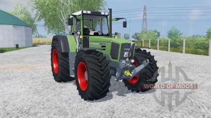 Fendt Favorit 824 Turboshift MoreRealistic for Farming Simulator 2013