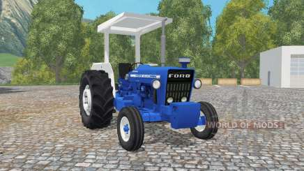Ford 4600 true blue for Farming Simulator 2015